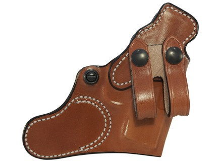 DeSantis Inner Piece Inside the Waistband Holster Right Hand Beretta Pico, Kahr P380 Leather Tan