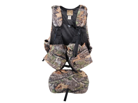 Ol' Tom Duralite Time & Motion I-Beam Turkey Vest Mossy Oak Obsession Camo