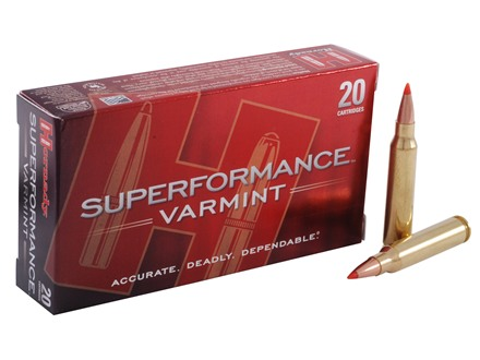 Hornady SUPERFORMANCE Varmint Ammunition 223 Remington 53 Grain V-Max Box of 20