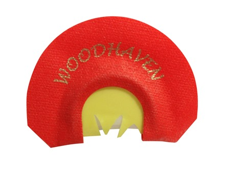 Woodhaven Raspy Red Reactor Diaphragm Turkey Call