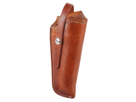 "El Paso Saddlery 1920 Tom Threepersons Outside the Waistband Holster Right Hand Colt Single Action Army, Single Six 4.75"" Russet Brown"