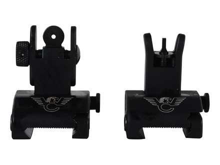 Wilson Combat Quick Detachable Front and Rear Sight Set AR-15 Steel Matte