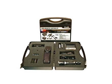 Fenix TK22 Complete Gun Kit LED with 2 18650 Rechargeable Batteries Aluminum Black