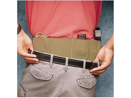"DeSantis Belly Band Holster Small, Medium Frame Semi Automatic, Revolver 30"" to 34"" Waist Elastic Tan"