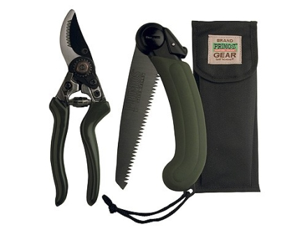 Primos Cut Back Pak Saw and Pruning Shears with Nylon Sheath