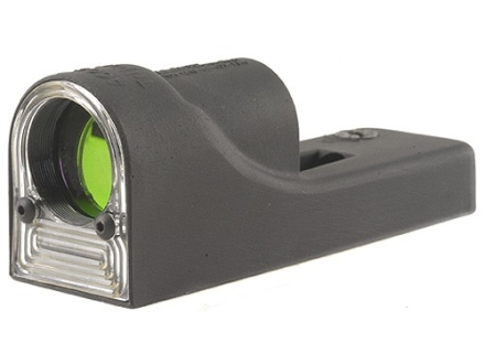 Trijicon Advanced Combat Reflex RX06 Sight 12.5 MOA Dual-Illuminated Amber Triangle Matte without Mount Matte