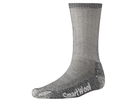 SmartWool Men's Trekking Heavyweight Crew Socks Wool Blend Gray Large 9-11-1/2