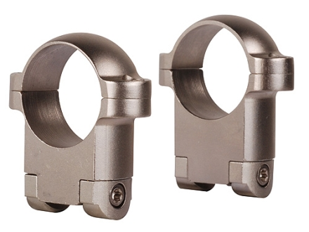 "Burris 1"" Ring Mounts Ruger 77 Silver Medium"