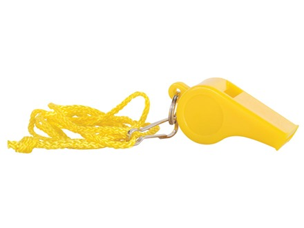 Coghlan's Signal Whistle Polymer Yellow