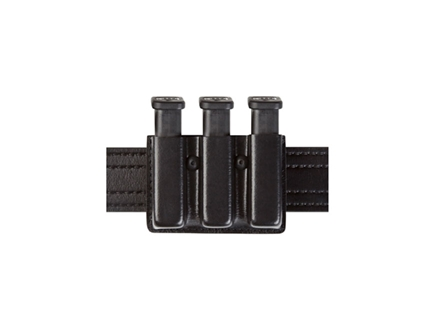 Safariland 775 Slimline Open-Top Triple Magazine Pouch 1911 Government/Officer Laminate Black
