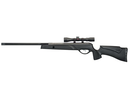 Gamo Big Cat 1400 Air Rifle 177 Caliber Black Synthetic Stock Blued Barrel with 4x32mm Scope