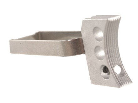 Cylinder & Slide Lightweight Videki Trigger 1911 Aluminum Silver