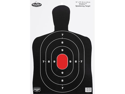 "Birchwood Casey Dirty Bird BC27 12"" x 18"" Target Package of 8"