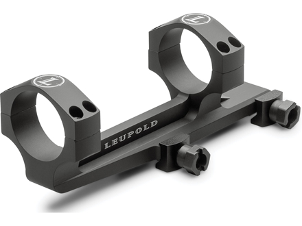 Leupold Mark 6 Integral Mounting System (IMS) 1-Piece Picatinny-Style Mount with Integral 34mm Rings AR-15 Flat-Top Matte