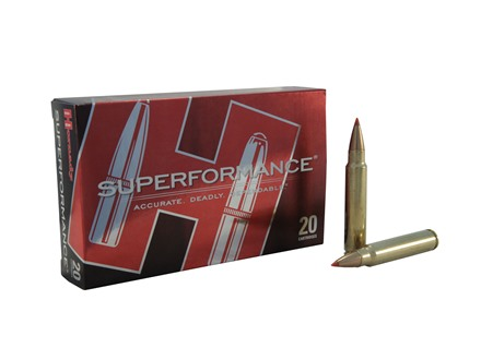 Hornady SUPERFORMANCE Ammunition 375 Ruger 250 Grain Gilding Metal Expanding Boat Tail Box of 20