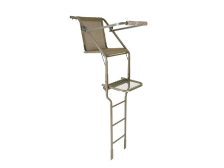 Millennium Treestands L-50 16' Single Ladder Treestand Steel Green