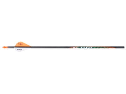 "Victory VAP V6 350 Carbon Arrow 2"" Blazer Vanes Carbon Black Pack of 6"