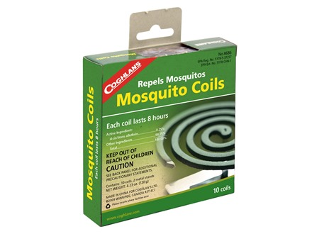 Coghlans Mosquito Coil Insect Repellent Pack of 10