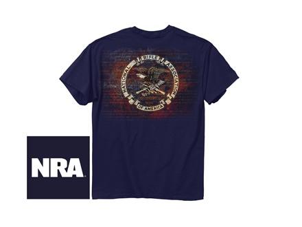NRA Men's Amendment Logo Short Sleeve T-Shirt
