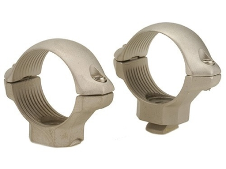 "Millett 1"" Turn-In Standard Rings Silver Medium"