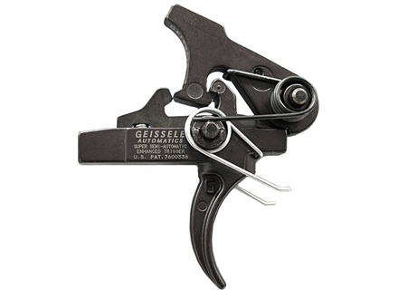 "Geissele Super Semi Automatic Enhanced Trigger AR-15, LR-308 Small Pin .154"" Two Stage Matte"