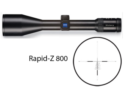 Zeiss Diavari VM/V Rifle Scope 30mm Tube 3-12x 56mm Rapid Z 800 Reticle Matte