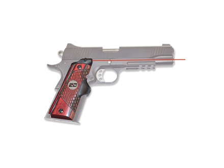 Crimson Trace 20th Anniversary Master Series Lasergrips 1911 Government, Commander Applejack Wood