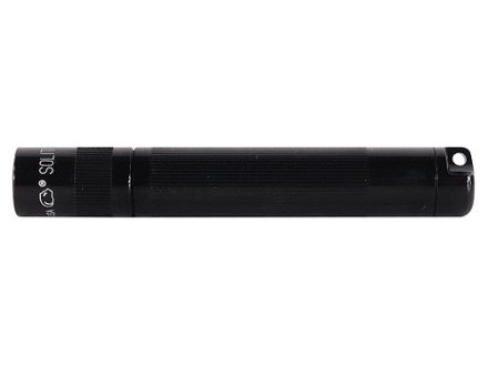Maglite Solitaire Flashlight Krypton with 1 AAA Battery Aluminum Black