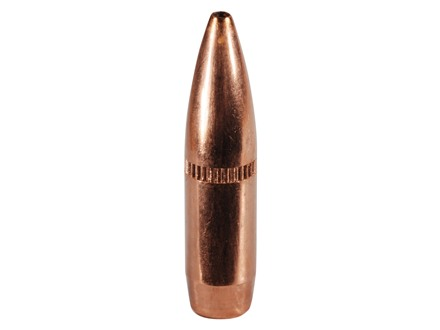 Nosler Custom Competition Bullets 22 Caliber (224 Diameter) 77 Grain Hollow Point Boat Tail with Cannelure Box of 250