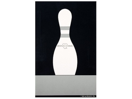 National Target Bowling Pin Practice Target Paper Package of 100