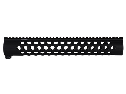 "Troy Industries 13.8"" TRX-308 Extreme Battle Rail Modular Free Float Handguard DPMS LR-308 with Low Profile Upper Receiver Black"