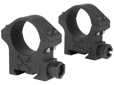 Talley 30mm Tactical Picatinny-Style Rings Matte Medium
