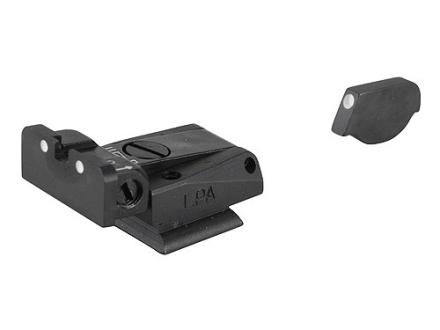 LPA SPR Sight Set Ruger P90, P91, P93, P94, P95, P97 Steel 3-Dot