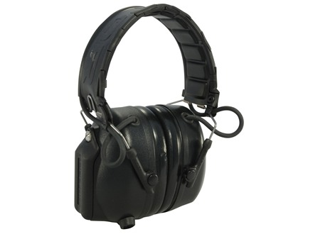 Peltor Tactical PRO Electronic Earmuffs (NRR 26dB) Black