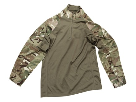 Military Surplus British UBACS Combat Shirt Multi-Terrain Pattern Camo