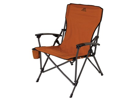 ALPS Leisure Folding Chair Steel and Polyester
