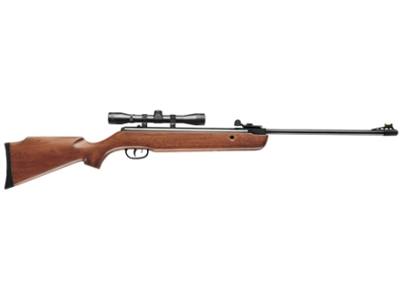 Crosman Storm XT Air Rifle 177 Caliber Wood Stock Matte Barrel with 4x 32mm Scope