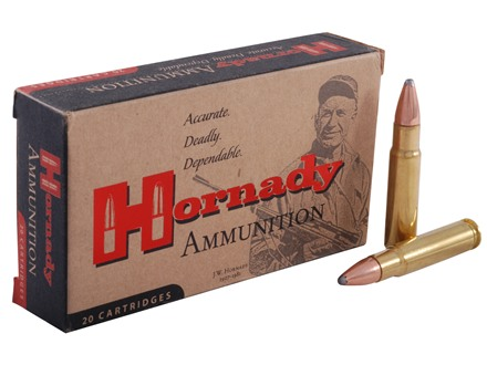 Hornady Custom Ammunition 358 Winchester 200 Grain Interlock Spire Point Box of 20