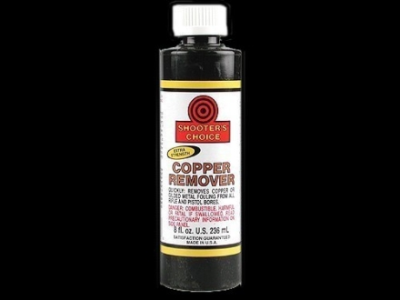 Shooter's Choice Copper Bore Cleaning Solvent 8 oz Liquid