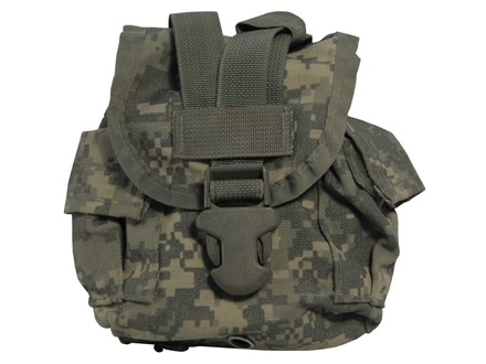 Military Surplus MOLLE II General Purpose Pouch Nylon Army Universal Camo