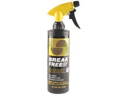 Break-Free CLP (Bore Cleaning Solvent, Lubricant, Rust Preventative) 16 oz Liquid