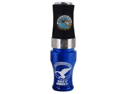 Buck Gardner Grey Ghost Acrylic with Aluminum Insert Duck Call Blue Pearl/Aluminum