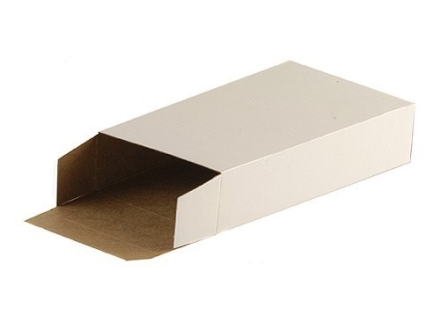 CB-10 Folding Cartons Cardboard White Box of 500