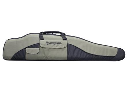 "Remington Premier Scoped Rifle Case 46"" Nylon Green and Black"