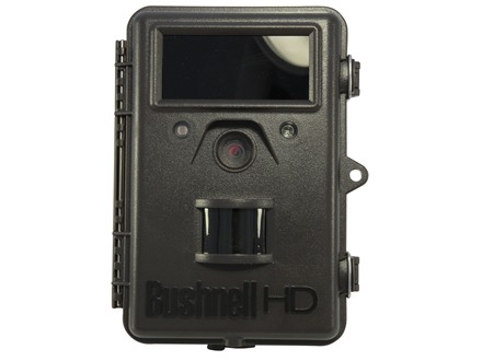 Bushnell Trophy Cam HD Max Hybrid Black Flash Infrared Game Camera 8.0 Megapixel with Viewing Screen Brown