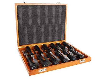 Smith & Wesson Carving and Inletting Chisel Set 12-Piece