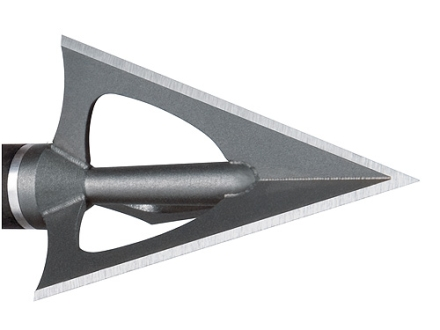 NAP Hellrazor Fixed Blade Broadhead 100 Grain Stainless Steel Pack of 4