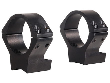 Talley Lightweight 2-Piece Scope Mounts with Integral 30mm Rings Browning X-Bolt Matte Low