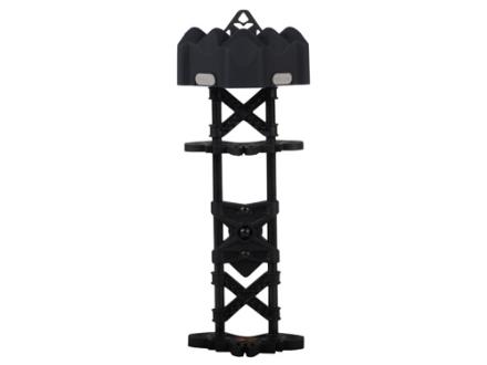 Archer Xtreme Carbon Helix 5-Arrow Detachable Bow Quiver Carbon and Polymer Blackout