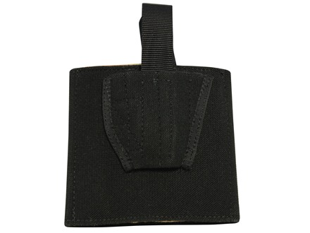 DeSantis Apache Ankle Holster Right Hand Small Frame Semi-Automatic Nylon Black